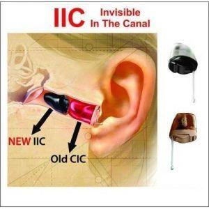 سمعک نامرئی مدل IIC