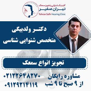 نمایندگی سمعک اینترتون در کلینیک تهران صفیر